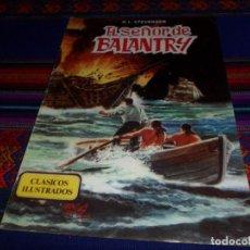 Tebeos: CLÁSICOS ILUSTRADOS Nº 5 EL SEÑOR DE BALANTRY. VALENCIANA 1984. 90 PTS. BUEN ESTADO.. Lote 134305090
