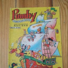 Tebeos: PUMBY Nº 325 - NÚMERO EXTRAORDINARIO DE NAVIDAD - MUY BUEN ESTADO. Lote 134544262