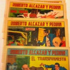 Tebeos: ROBERTO ALCAZAR Y PEDRIN - LOTE DE 10 EJEMPLARES . Lote 134836198