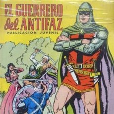 Tebeos: GUERRERO DEL ANTIFAZ (TOMOS) - ED. VALENCIANA - TOMOS CON 343 NUMEROS + 9. Lote 134841478