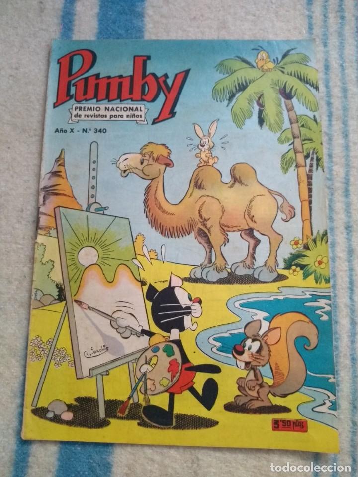 PUMBY Nº 340 (Tebeos y Comics - Valenciana - Pumby)
