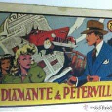 Tebeos: EL DIAMANTE DE PETERVILLE (75CTS.)-MUY BIEN CONSERVADO. Lote 134855926