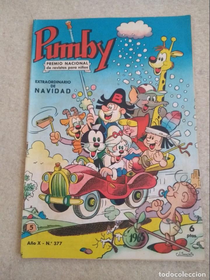 PUMBY 377 - EXTRAORDINARIO DE NAVIDAD - 1964 (Tebeos y Comics - Valenciana - Pumby)