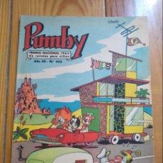 Tebeos: PUMBY Nº 442 - EXCELENTE. Lote 135124338