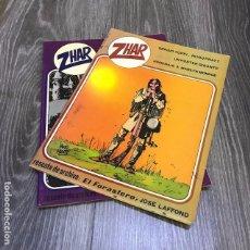 Tebeos: LOTE ZHAR - VALENCIANA - 1983 (2 EJEMPLARES). Lote 135258486