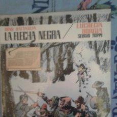 Tebeos: LA FECHA NEGRA-LUCRECIA BORGIA: BATTAGLIA-TOPPI: COLECCION PILOTO Nº 7: EDITORIAL VALENCIANA. Lote 135371198