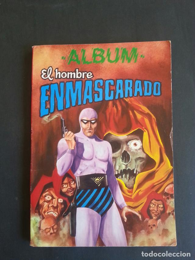 COMIC TEBEO ALBUM EL HOMBRE ENMASCARADO TOMO 6. COLOSOS DEL COMIC. AÑOS 80 (Tebeos y Comics - Valenciana - Colosos del Comic)