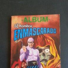 Tebeos: COMIC TEBEO ALBUM EL HOMBRE ENMASCARADO TOMO 6. COLOSOS DEL COMIC. AÑOS 80. Lote 135414270
