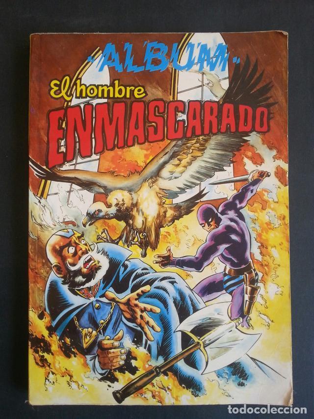 COMIC TEBEO ALBUM EL HOMBRE ENMASCARADO TOMO 3. COLOSOS DEL COMIC. AÑOS 80 (Tebeos y Comics - Valenciana - Colosos del Comic)