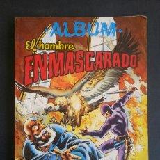 Tebeos: COMIC TEBEO ALBUM EL HOMBRE ENMASCARADO TOMO 3. COLOSOS DEL COMIC. AÑOS 80. Lote 135414334