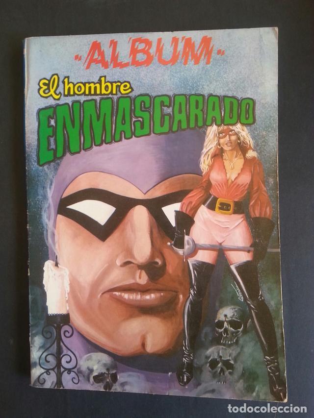 COMIC TEBEO ALBUM EL HOMBRE ENMASCARADO TOMO 7. COLOSOS DEL COMIC. AÑOS 80 (Tebeos y Comics - Valenciana - Colosos del Comic)
