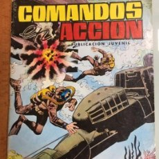Tebeos: COMANDOS EN ACCION Nº 34 HEROES MARINOS EDITORIAL VALENCIANA AÑO 1981, BUEN ESTADO. Lote 135510646