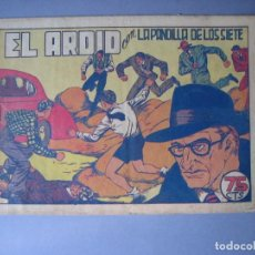 Tebeos: PANDILLA DE LOS SIETE, LA (1945, VALENCIANA) -EL PEQUEÑO ENMASCARADO- 72 · 1945 · EL ARDID. Lote 135724115