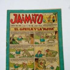 Tebeos: TEBEO JAIMITO Nº 350, EDITORIAL VALENCIANA. EL GORILA Y LA MONA.. Lote 136009538