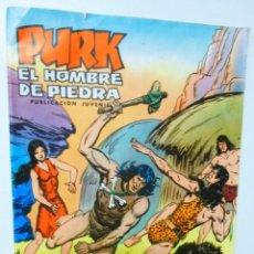 Tebeos: PURK EL HOMBRE DE PIEDRA NÚMERO 18 EDITORIAL VALENCIANA AÑO 1974 DAMULA HUYE. Lote 136077934