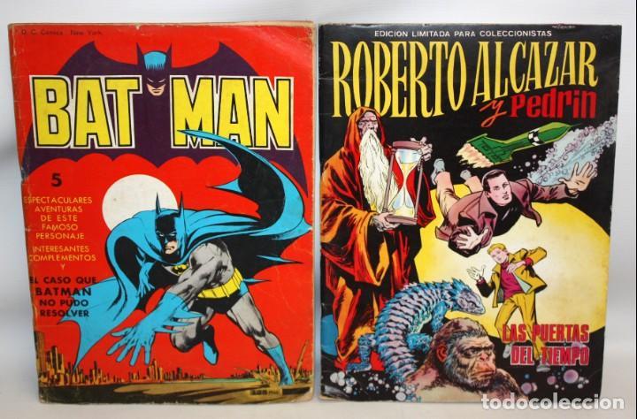 BATMAN Y ROBERTO ALCAZAR Y PEDRIN-EDITORA VALENCIANA-1976. (Tebeos y Comics - Valenciana - Roberto Alcázar y Pedrín)