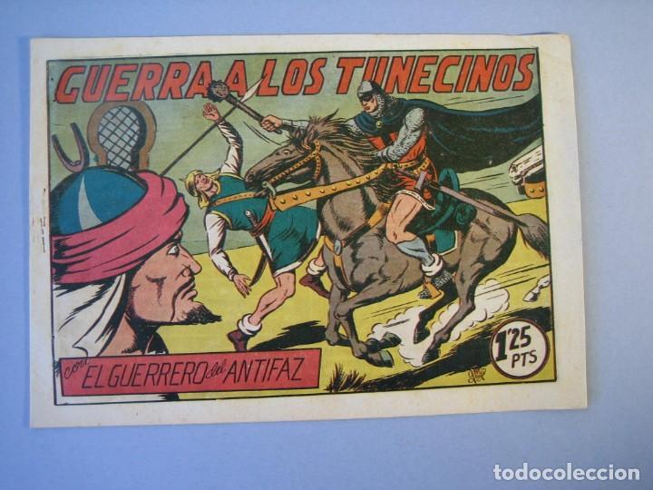 GUERRERO DEL ANTIFAZ, EL (1943, VALENCIANA) 100 · 16-IV-1949 · GUERRA A LOS TUNECINOS (Tebeos y Comics - Valenciana - Guerrero del Antifaz)