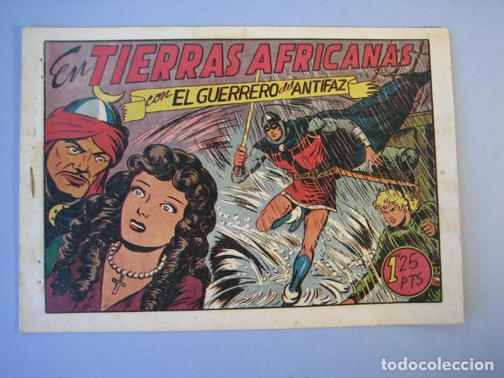 GUERRERO DEL ANTIFAZ, EL (1943, VALENCIANA) 99 · 2-IV-1949 · EN TIERRAS AFRICANAS (Tebeos y Comics - Valenciana - Guerrero del Antifaz)