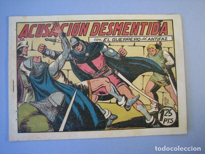 GUERRERO DEL ANTIFAZ, EL (1943, VALENCIANA) 97 · 5-III-1949 · ACUSACIÓN DESMENTIDA (Tebeos y Comics - Valenciana - Guerrero del Antifaz)