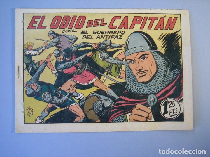 GUERRERO DEL ANTIFAZ, EL (1943, VALENCIANA) 96 · 19-II-1949 · EL ODIO DEL CAPITÁN (Tebeos y Comics - Valenciana - Guerrero del Antifaz)