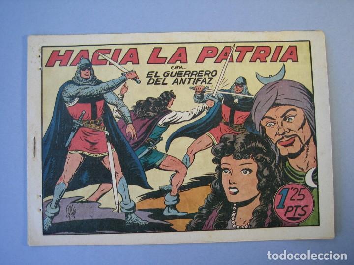 GUERRERO DEL ANTIFAZ, EL (1943, VALENCIANA) 95 · 5-II-1949 · HACIA LA PATRIA (Tebeos y Comics - Valenciana - Guerrero del Antifaz)