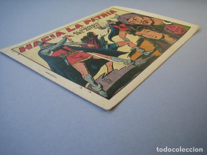 Tebeos: GUERRERO DEL ANTIFAZ, EL (1943, VALENCIANA) 95 · 5-II-1949 · HACIA LA PATRIA - Foto 3 - 136371458