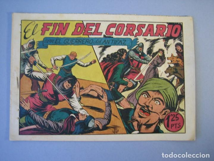 GUERRERO DEL ANTIFAZ, EL (1943, VALENCIANA) 94 · 22-I-1949 · EL FIN DEL CORSARIO (Tebeos y Comics - Valenciana - Guerrero del Antifaz)