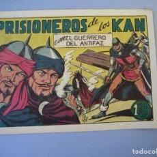 Tebeos: GUERRERO DEL ANTIFAZ, EL (1943, VALENCIANA) 93 · 8-I-1949 · PRISIONEROS DE LOS KAN. Lote 136371862