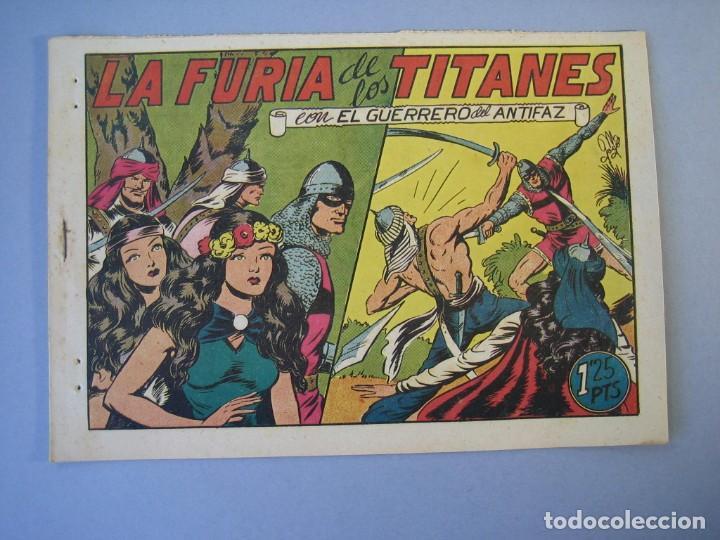 GUERRERO DEL ANTIFAZ, EL (1943, VALENCIANA) 92 · 25-XII-1948 · LA FURIA DE LOS TITANES (Tebeos y Comics - Valenciana - Guerrero del Antifaz)