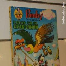 Tebeos: LIBROS ILUSTRADOS PUMBY Nº 39 LUCHA EN EL GRAN CAÑON - VALENCIANA -. Lote 136388318