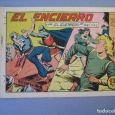 Tebeos: GUERRERO DEL ANTIFAZ, EL (1943, VALENCIANA) 140 · 28-X-1950 · EL ENCIERRO. Lote 136410950