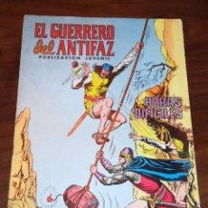 Tebeos: EL GERRERO DEL ANTIFAZ - PUBLICACIÓN JUVENIL -N°245 - HORAS DIFÍCILES - . Lote 136509974