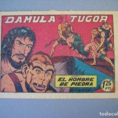 Tebeos: PURK EL HOMBRE DE PIEDRA (1950, VALENCIANA) 23 · 1950 · DAMULA Y TUGOR. Lote 136668030