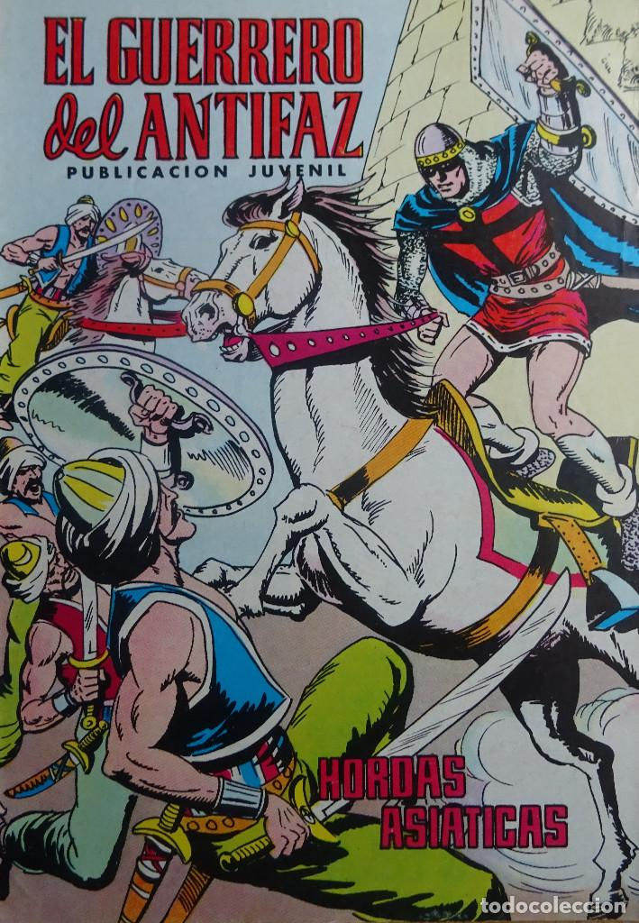 EL GUERRERO DEL ANTIFAZ - HORDAS ASIATICAS - Nº 329 - EDITORIAL VALENCIANA (Tebeos y Comics - Valenciana - Guerrero del Antifaz)