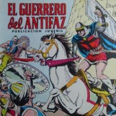 Tebeos: EL GUERRERO DEL ANTIFAZ - HORDAS ASIATICAS - Nº 329 - EDITORIAL VALENCIANA. Lote 136725922