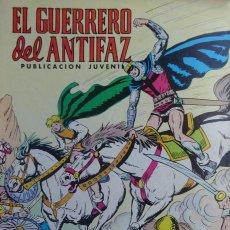 Tebeos: EL GUERRERO DEL ANTIFAZ - CARGAS DESEPERADAS - Nº 332 - EDITORIAL VALENCIANA. Lote 136727730