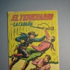 Tebeos: TEMERARIO, EL (1947, VALENCIANA) 9 · 1947 · LA CABAÑA. Lote 136766510