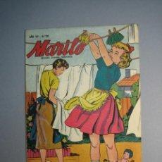 Tebeos: MARILO (1950, VALENCIANA) 131 · 1956 · HISTORIETAS DE MARILÓ. Lote 136766554
