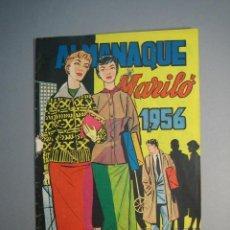 Tebeos: MARILO . ALMANAQUE 1956 ( EDIVAL,1950). Lote 136766578