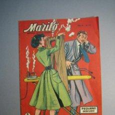 Tebeos: MARILO (1950, VALENCIANA) 132 · 18-IV-1956 · PEQUEÑO DESCUÍDO. Lote 136766590