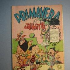 Tebeos: JAIMITO (1945, VALENCIANA) EXTRA 8 · 1950 · PRIMAVERA DE JAIMITO. Lote 136766618