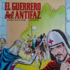 Tebeos: EL GUERRERO DEL ANTIFAZ - LA LLEGADA AN KAN - Nº 335 - EDITORIAL VALENCIANA. Lote 136823094
