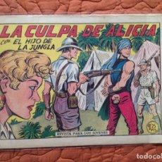 Tebeos: Nº13 LA CULPA DE ALICIA. Lote 137120766