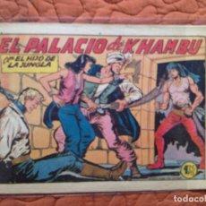 Tebeos: Nº19 EL PALACIO DE KHAMBU. Lote 137120974