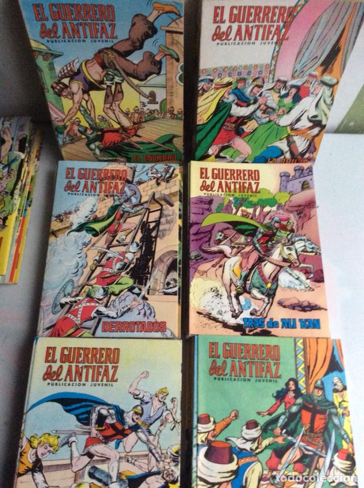 Tebeos: EL GUERRERO DEL ANTIFAZ, COLECCION COMPLETA 343 EJEMPLARES + 13 ESPECIALES ( DE VALENCIANA 1972 ) - Foto 13 - 47321997