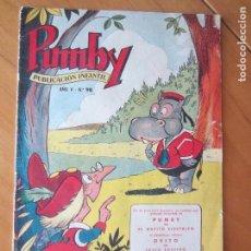 Tebeos: PUMBY Nº 98- ORIGINAL- 1959- DIFICIL. Lote 137196274