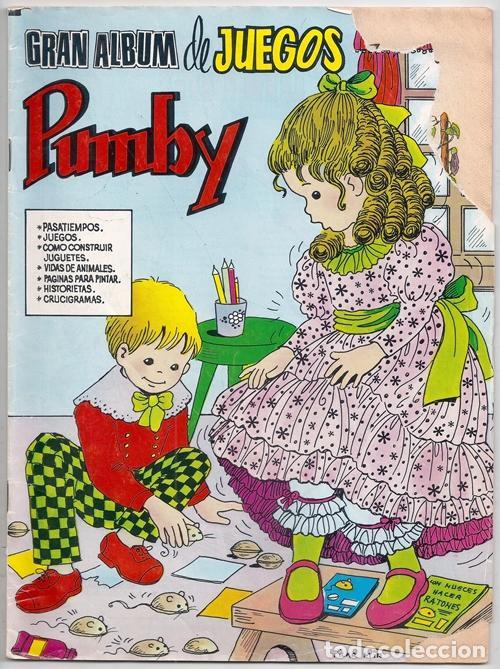 GRAN ALBUM DE JUEGOS PUMBY, 12 - EDITORA VALENCIANA, 13/12/1980 (Tebeos y Comics - Valenciana - Pumby)