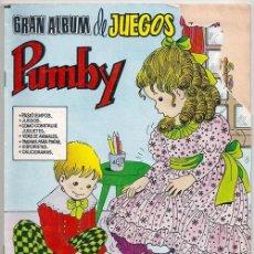 Tebeos: GRAN ALBUM DE JUEGOS PUMBY, 12 - EDITORA VALENCIANA, 13/12/1980. Lote 137293834