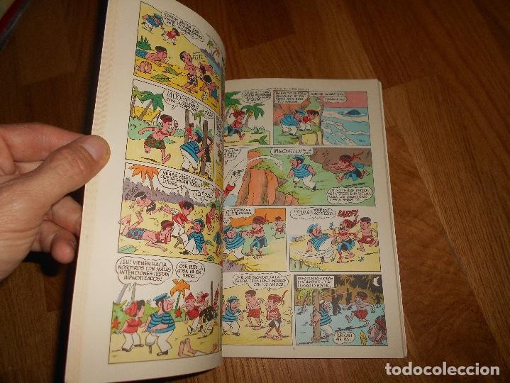 Tebeos: PUMBY ALBUM LIBROS ILUSTRADOS Nº 10 LON INDIOS VOLADORES ORIGINAL VALENCIANA MUY BURN ESTADO - Foto 3 - 137297390