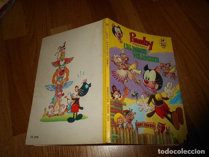 Tebeos: PUMBY ALBUM LIBROS ILUSTRADOS Nº 10 LON INDIOS VOLADORES ORIGINAL VALENCIANA MUY BURN ESTADO - Foto 6 - 137297390
